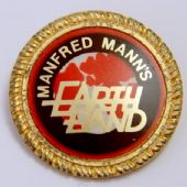 Manfred Mann's Earth Band - Lapel Badge